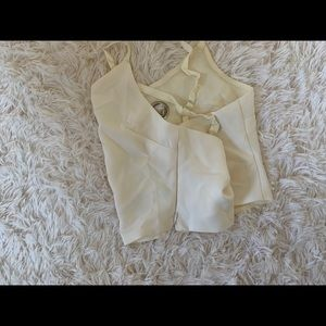 Urban Outfitters Tops - Cream crop top